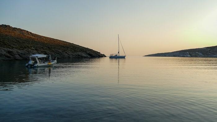 Zatoka Grammata jacht
