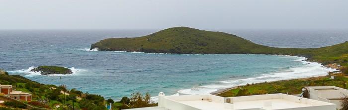 Zatoka Delfini Syros