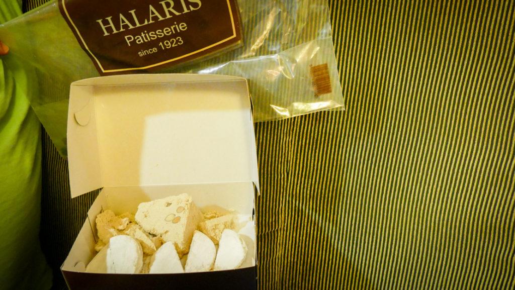 przysmaki z cukierni Chalaris