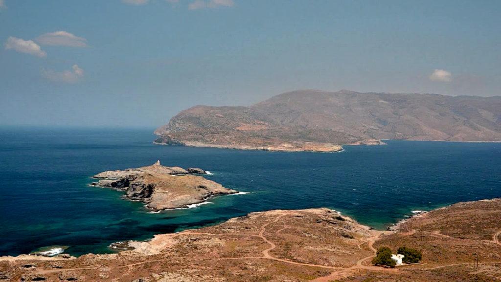 kanał między Tinos a Andros