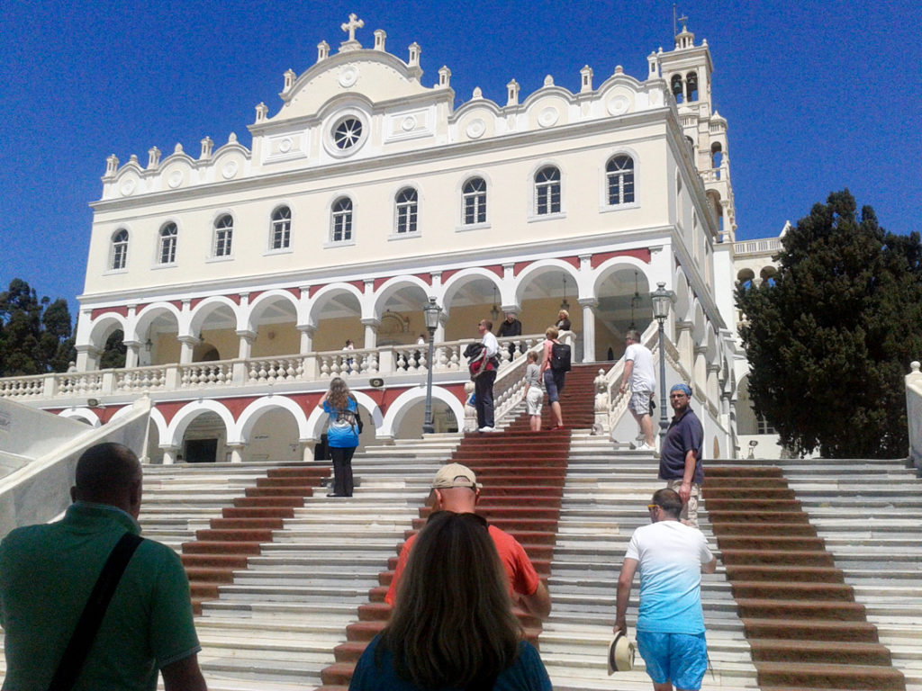 Kościół Panagia Evangelistria na wyspie Tinos