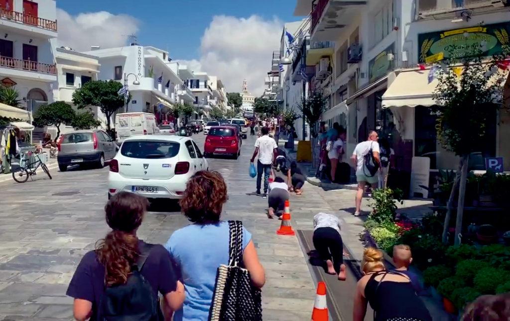 Ulica Magalochoris na Tinos