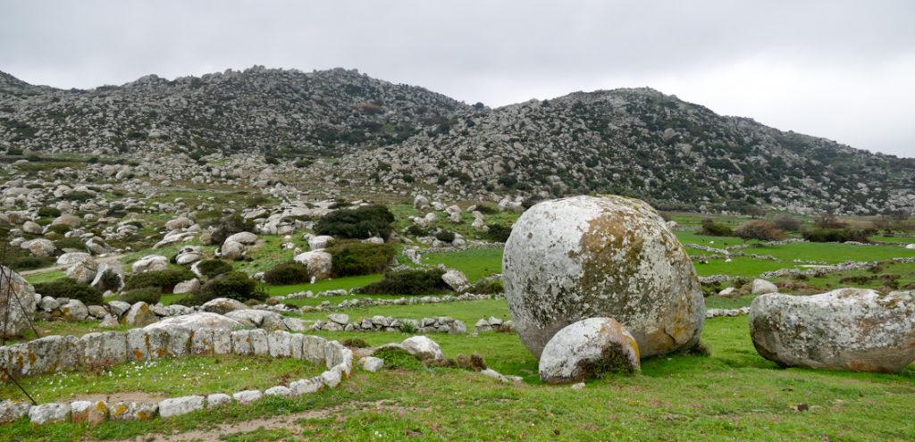głazy w Volax - Tinos