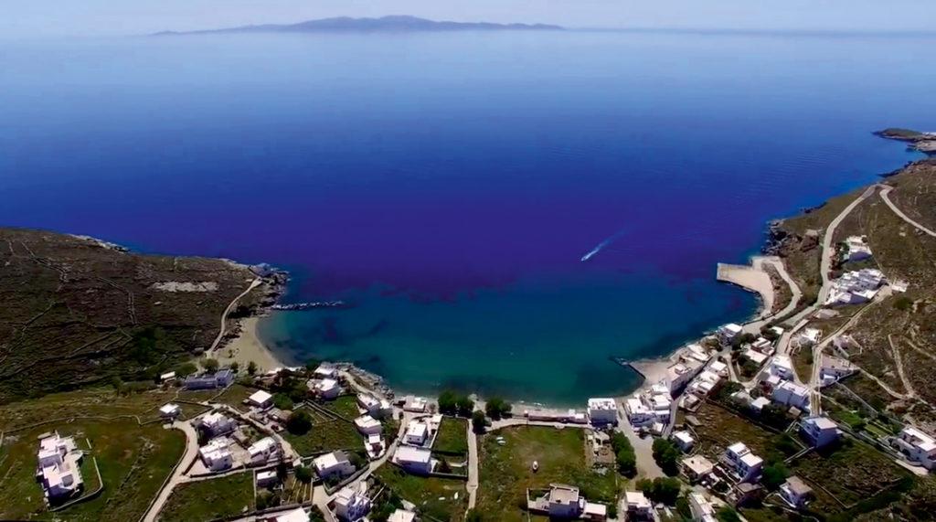 Zatoka Isternia na Tinos