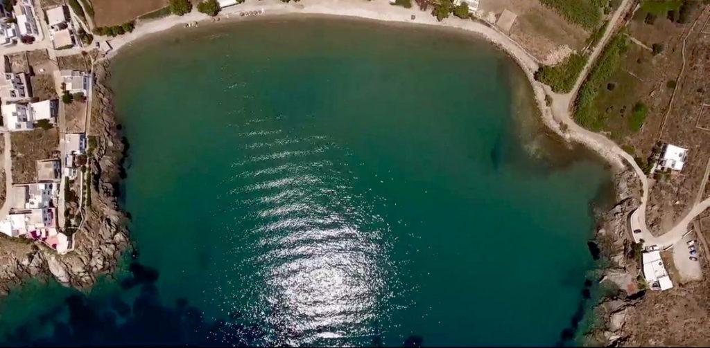 Zatoka Kardiani na Tinos