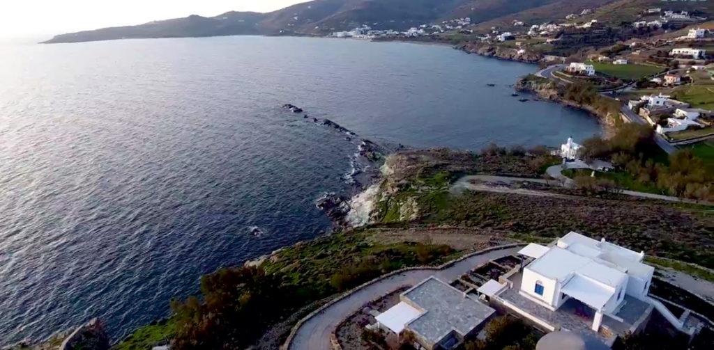 Zatoka Stavros na wyspie Tinos