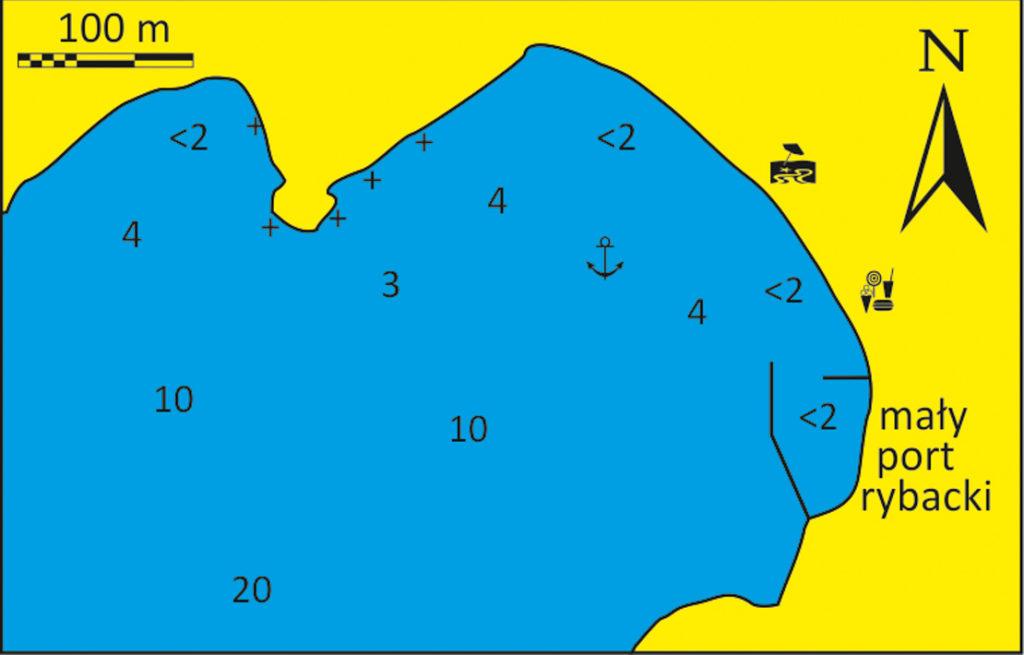 Zatoka Aghios Romanou wyspa Tinos Cyklady mapka
