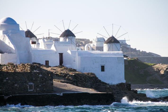 wiatraki Mykonos