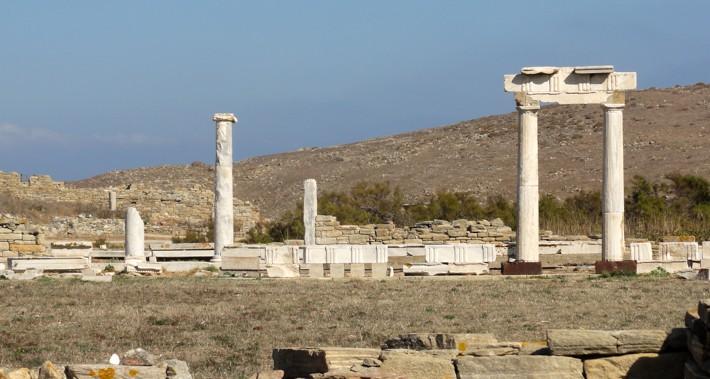 Delos ruiny