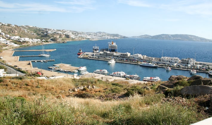 Port Tourlos Mykonos