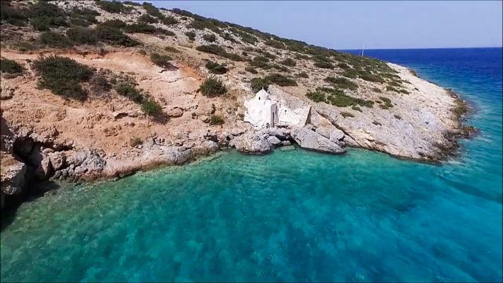 Kapliczka Ag. Sozon Naxos