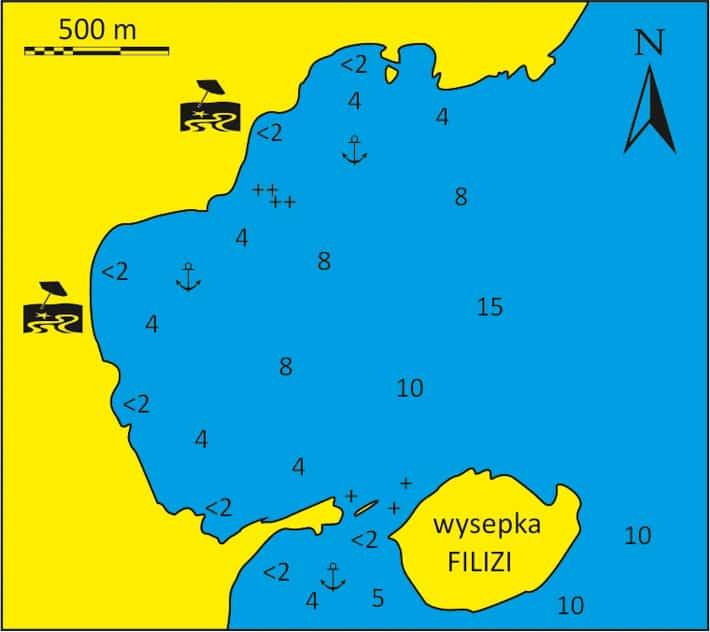 Mapka Zatoki Filizi