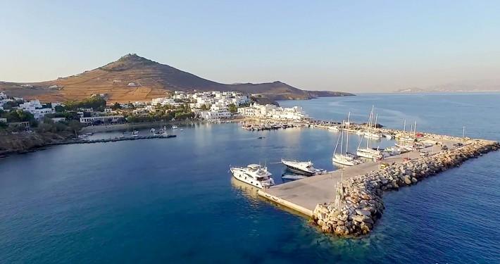 Port w Piso Livadi