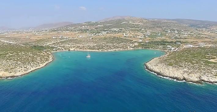 Zatoka Aghia Irini na Paros