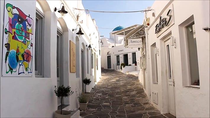 Apollonia wąskie uliczki i schody