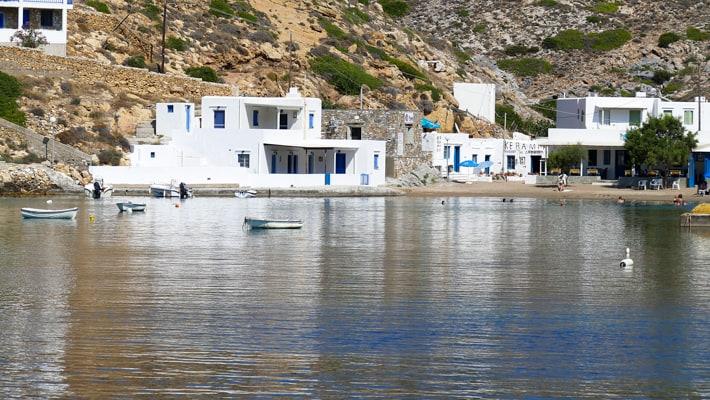 miejscowość Cherronisos na Sifnos
