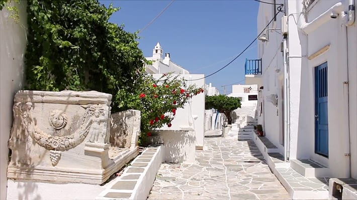 uliczki Kastro Sifnos