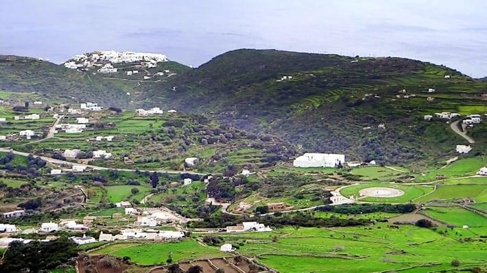Sifnos wnętrze wyspy