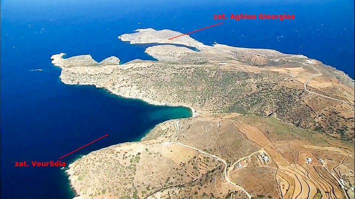 Zatoka Vourlidia i Aghios Gieorgios