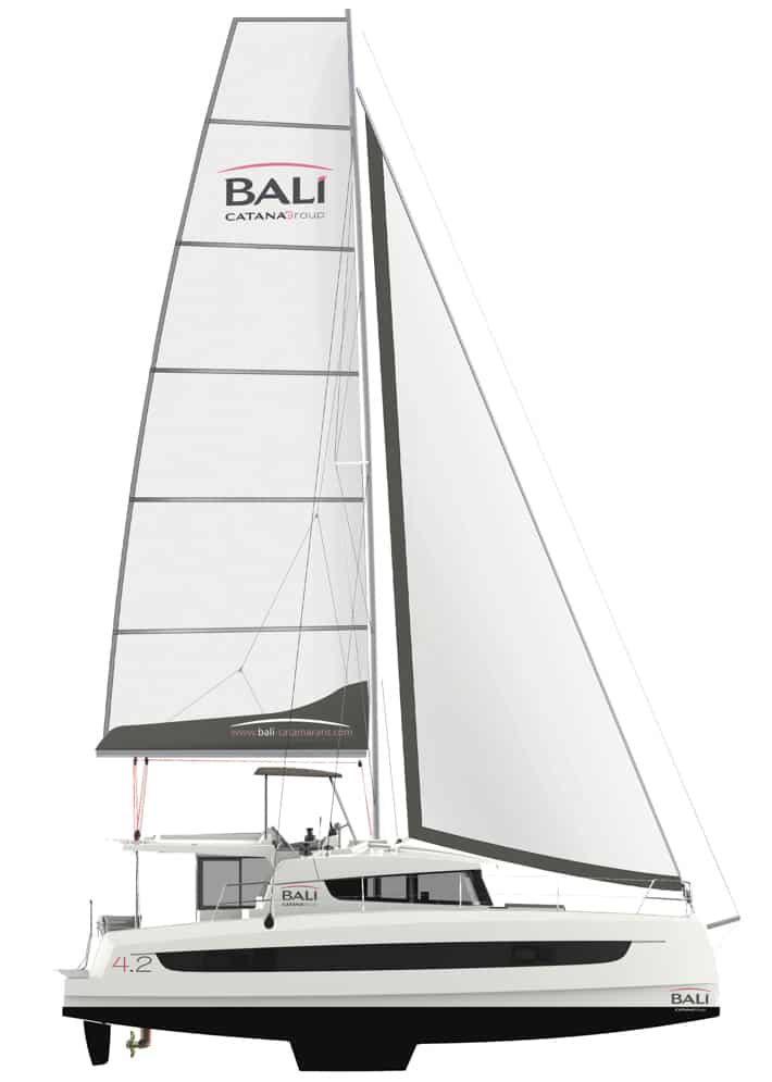 profil jachtu rysunek