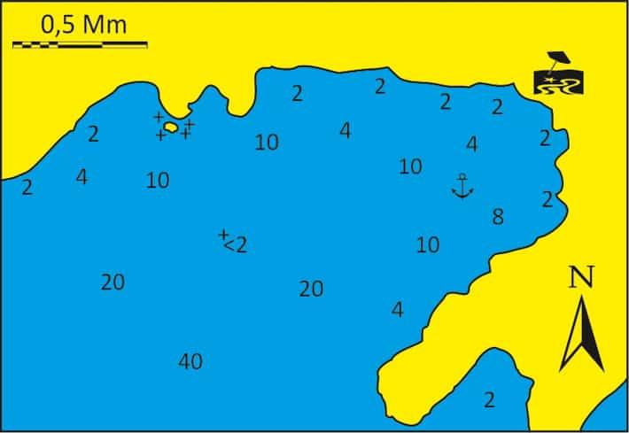 Zatoka Kalo Ambeli mapka