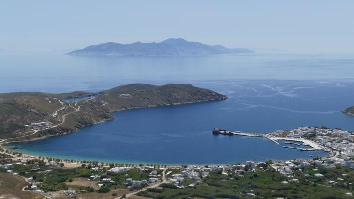 Zatoka Livadhi na Serifos