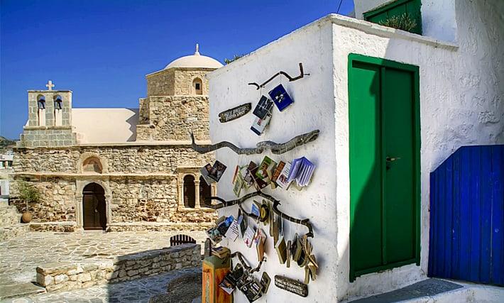 wyspa Kimolos biblioteka