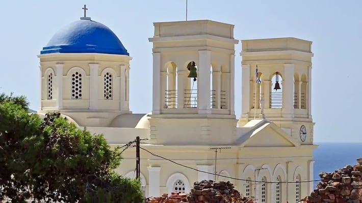 kościół Kimolos Chorio