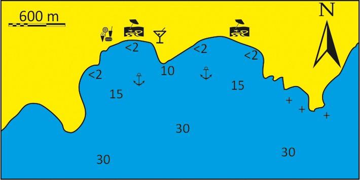 mapka Zatoka provatas