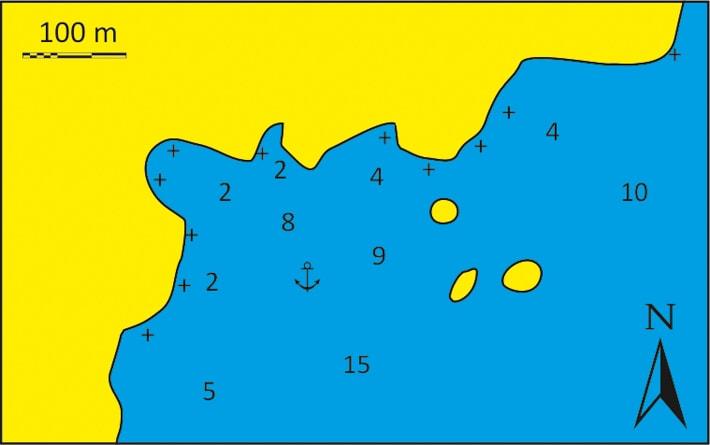 mapka zatoka Rematos
