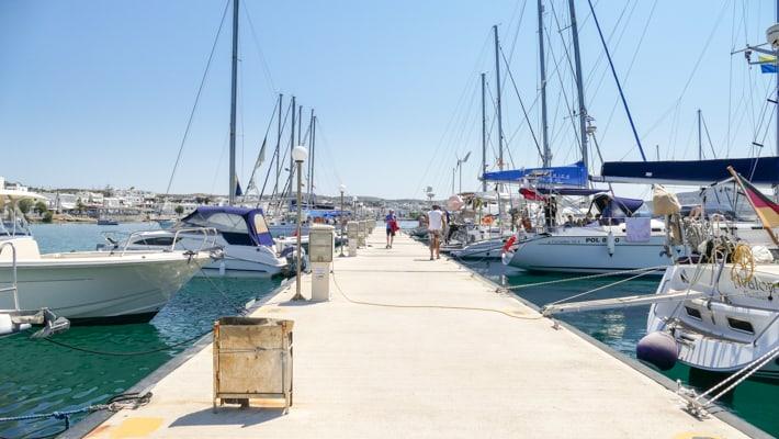 Adamas pirs pływający Milos
