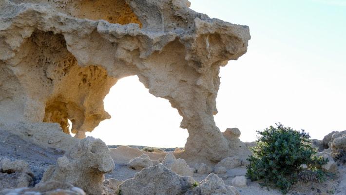 sarakiniko formacje skalne
