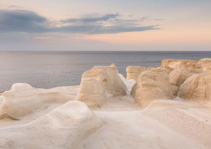 sarakiniko białe skały