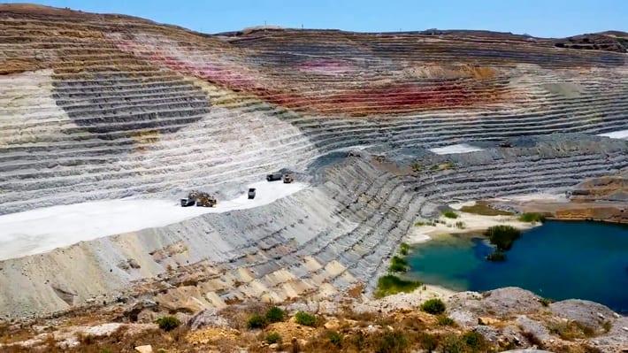 współczesne kopalnie minerałów