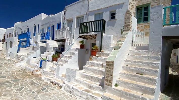 popularna uliczka w Chora