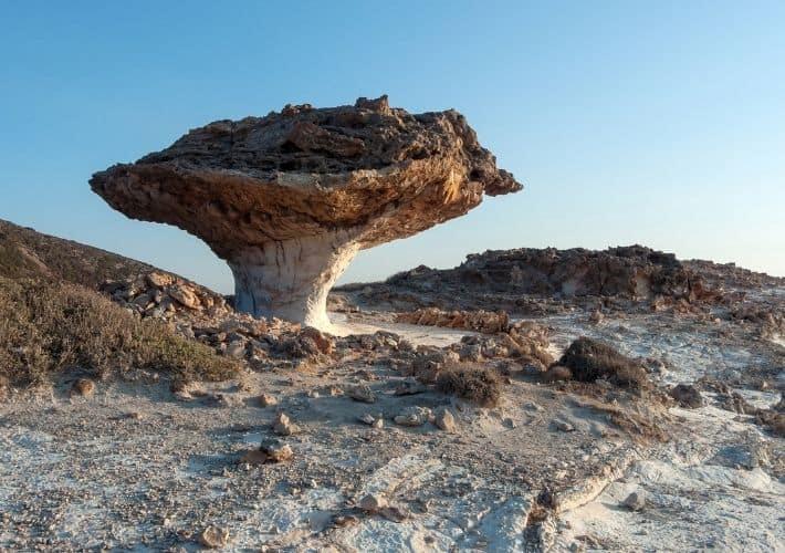 skała Skiadi na Kimolos