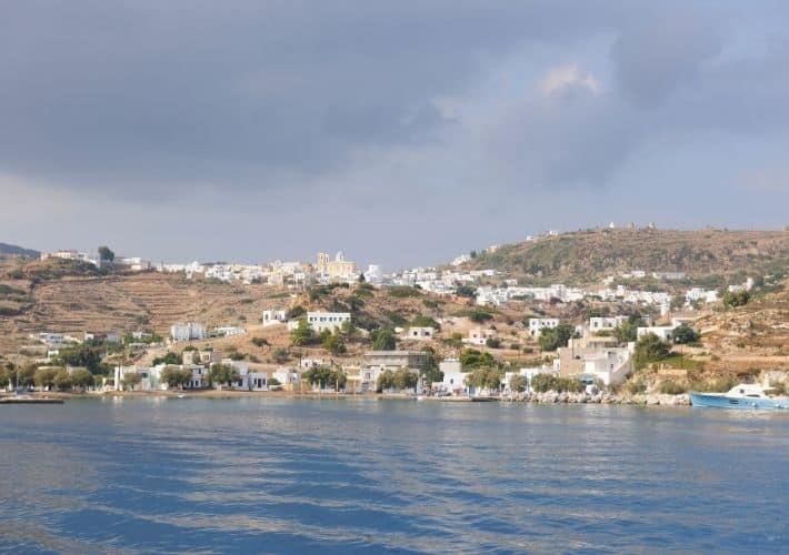 Chorio widok z morza