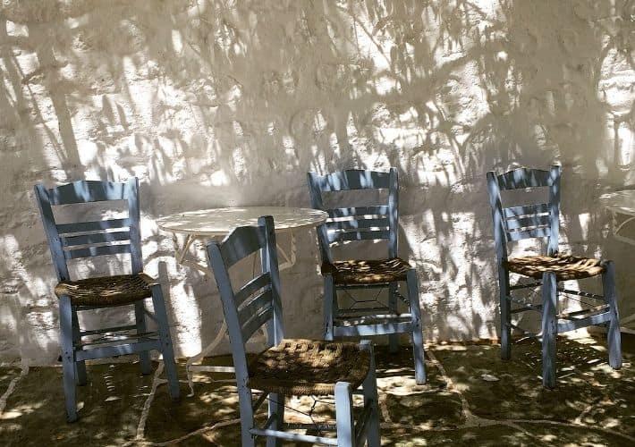 krzesła Folegandros