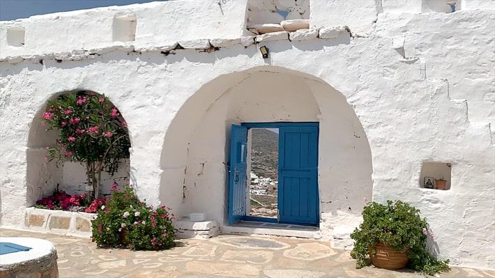 wejście - klasztor Zoodochas Pigi