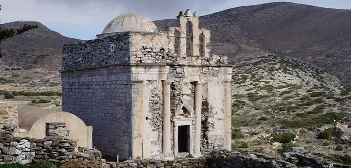 Episkopi kościół na Sikinos