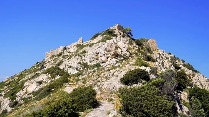 Paleokastro - ruiny twierdzy