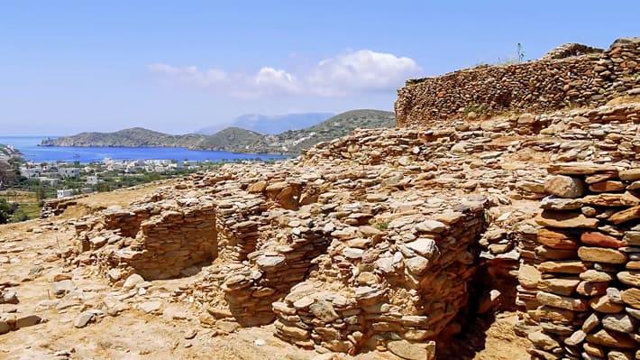 pozostałości osady Skarkos