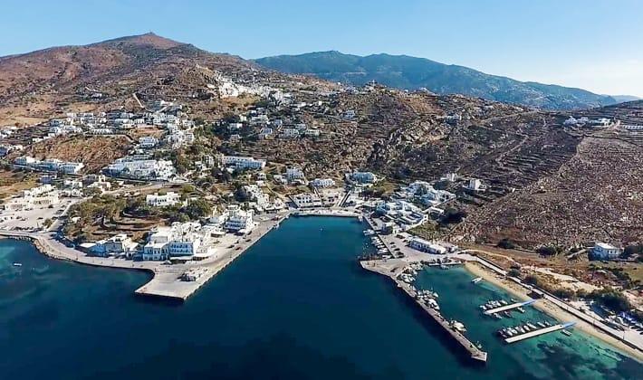 ios widok na port