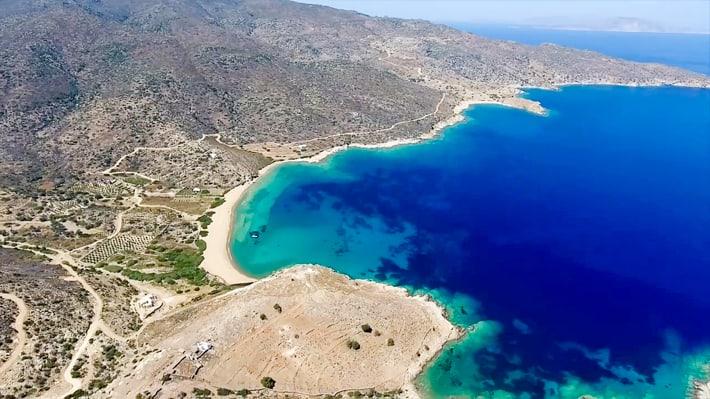 Zatoka Kalamos na Ios