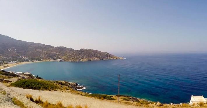 Zatoka Mylopotas na Ios