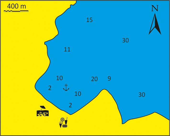 mapka Zatoki Theodotis