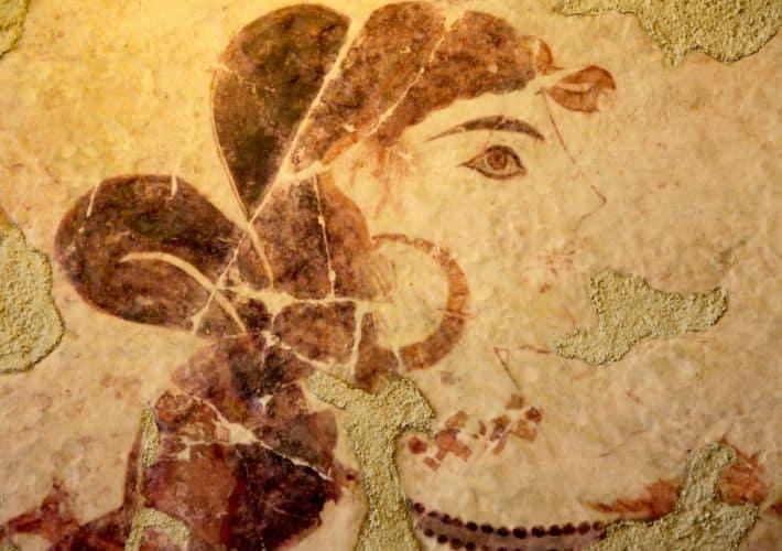 mozaika z Akrotiri