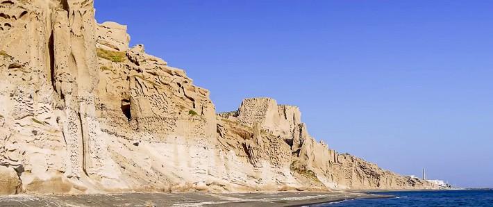 Vlychada plaża na Santorini