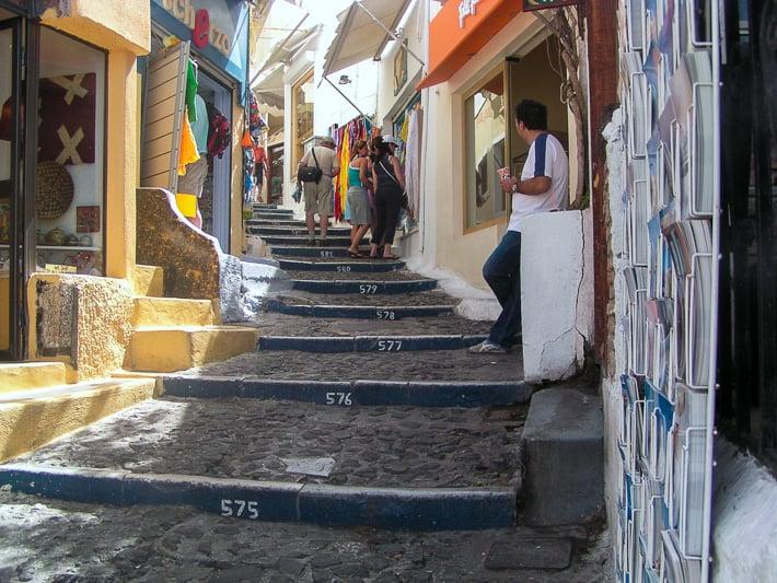 schody do Thiry