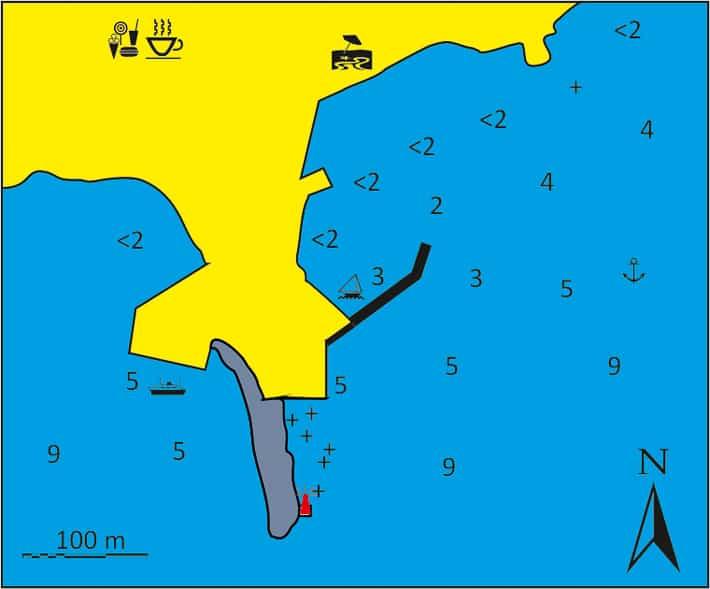 Anafi mapka portu